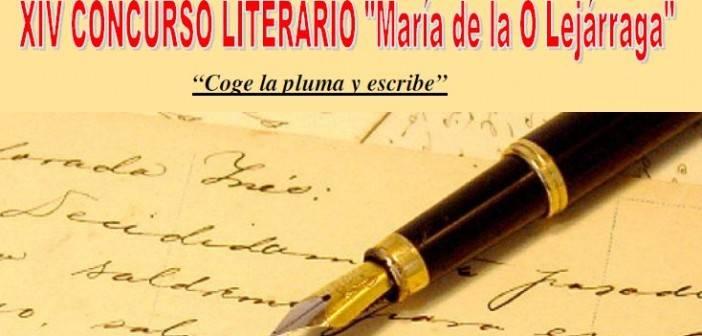 """XIV CONCURSO LITERARIO """"María de la O Lejárraga"""""""