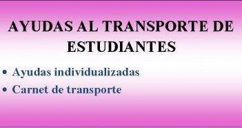 Ayudas al transporte