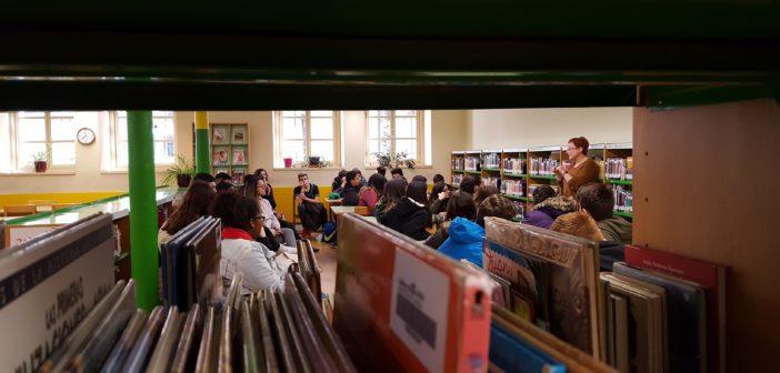 Los alumnos de PMAR visitan la Biblioteca Pública