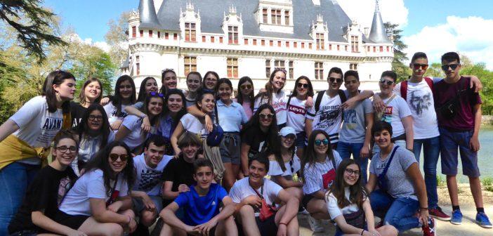 Viaje a Futuroscope y Castillos del Loira de los alumnos de 3º ESO que cursan francés