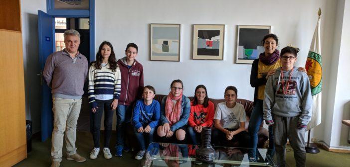 """Un grupo de alumnos de 1º ESO gana el accésit a """"Mejor interpretación"""" en el concurso """"Clase sin Humo"""""""