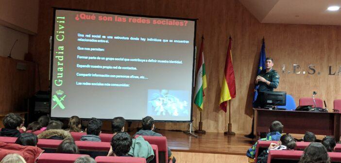 Charla sobre Riesgos de Internet para 3º ESO