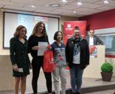 Sandra Barrutieta recoge el Tercer Premio en el VI Concurso Científico-Literario de la Universidad de La Rioja