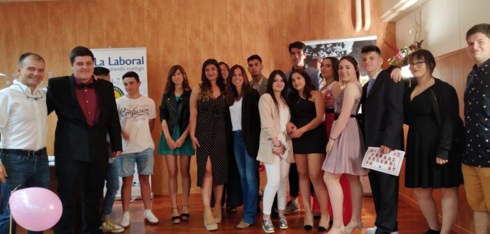 Acto de entrega de orlas a los alumnos de Formación Profesional Básica