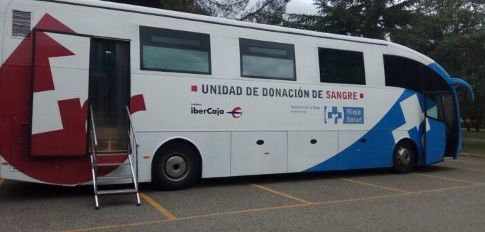 Mañana nos visita la unidad móvil del Banco de Sangre de La Rioja