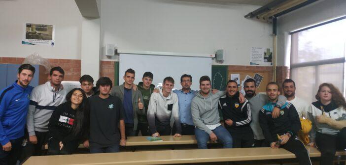 Encuentros teórico-prácticos para los alumnos de Técnico Deportivo en la modalidad de Fútbol