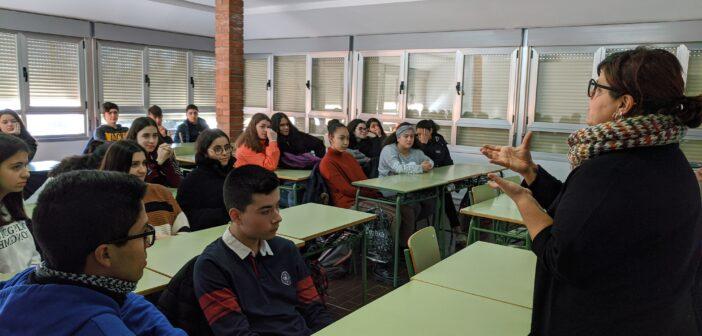Talleres impartidos por la Federación Riojana de Voluntariado Social a nuestros alumnos de 4º de ESO