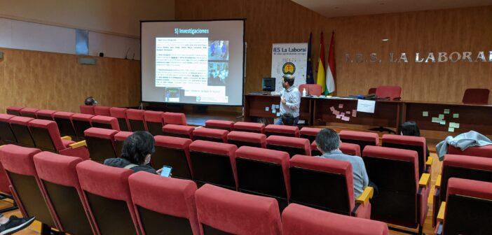 Los profesores del Proyecto Centros Educativos Hacia la Sostenibilidad recibimos formación